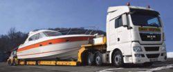 Перевозка яхт автомобильным транспортом