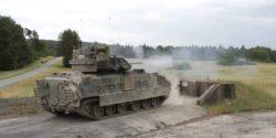 Правительство США передаст Хорватии пехотные боевые машины Bradley
