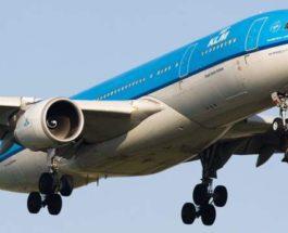 KLM,самолет