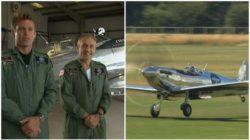Кругосветное путешествие на самолете Второй Мировой Spitfire закончилось успешно