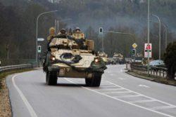 Бригада армии США отправляется в Хоэнфельс, Германия, для учений (ФОТО)