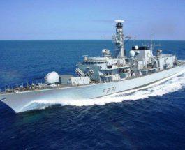 Британия отправила военные корабли