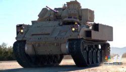 Армия США начала испытания новейшего варианта Брэдли с новой системой подвески