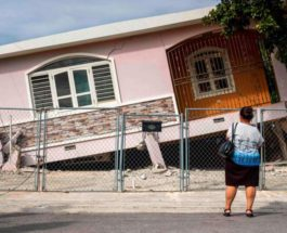 Землетрясение силой 5,8 балла потрясло Пуэрто-Рико
