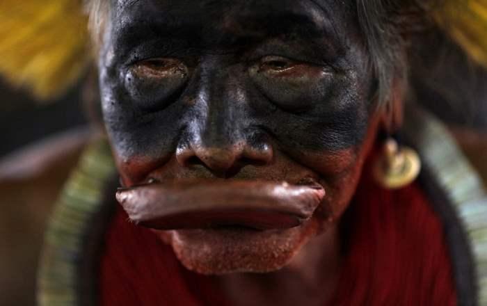 Лидер племени каяпо