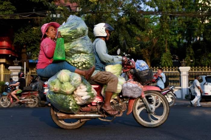 Пассажир мотоцикла