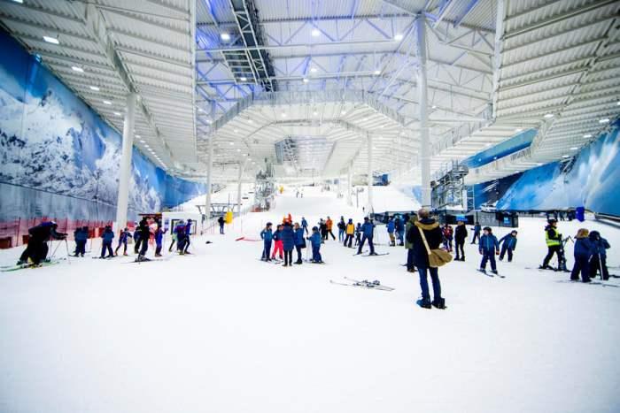 Самый большой в мире крытый горнолыжный курорт