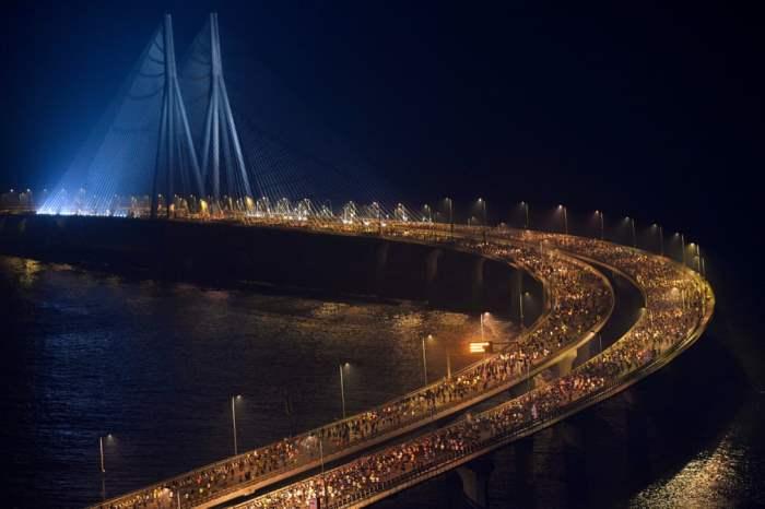 Участники Мумбаи-марафона