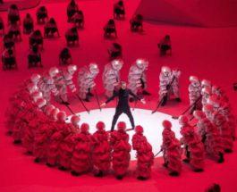Церемония открытия зимних юношеских Олимпийских игр