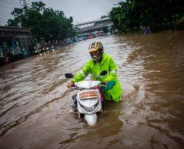 джакарта наводнение