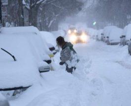 канада снежный шторм