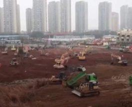 китай строительство госпиталя