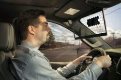 Bosch изобрела технологичные козырьки для автомобилей