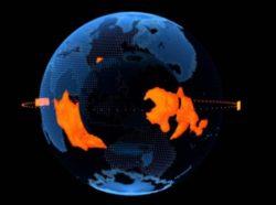 В глубине планеты есть два гигантских лавовых озера, способных утопить Землю в лаве