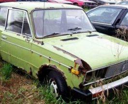 ладбище советских автомобилей
