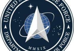 Трамп представил логотип Космических Сил США