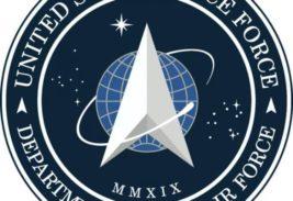 логотип Космических Сил США