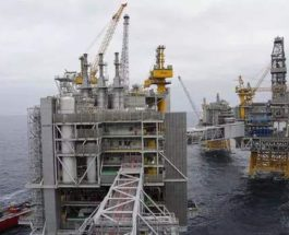 норвежская нефтяная платформа