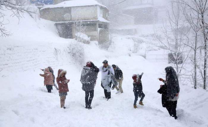 пакистан снег