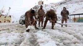 снег афганистан