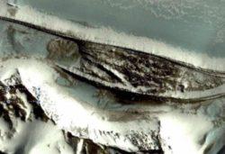 В Антарктиде обнаружены стены древнего храма