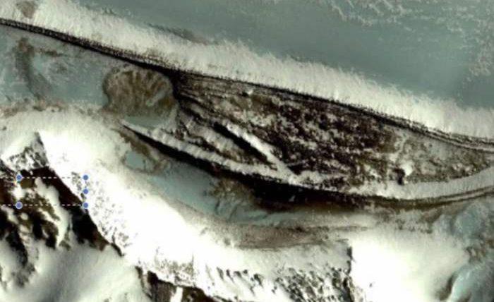 стены антарктида