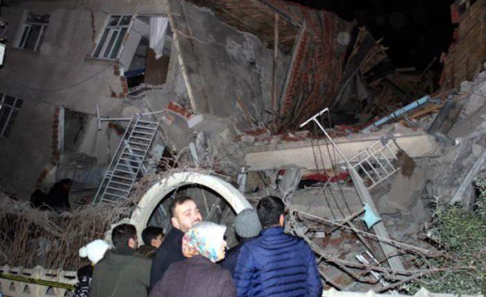 турция землетрясение
