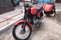 Капсула времени: найден мотоцикл Jawa 350 без пробега