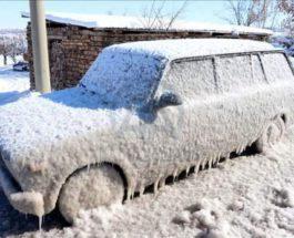 Арктический холод в -40° пришел в восточную Турцию