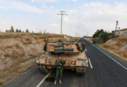 Большой турецкий конвой вошел в Сирию и подвергся массированным ударам