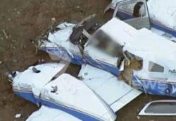 В Австралии столкнулись два самолета в воздухе