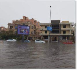 В Египте произошли наводнения после сильных ливней