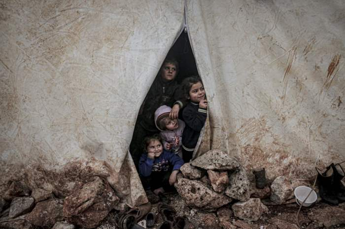 Дети сирийских семей