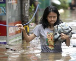 Джакарта находится под водой