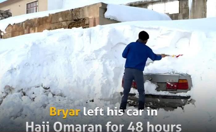 Ирак,снег