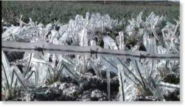 Морозы в двух регионах Колумбии
