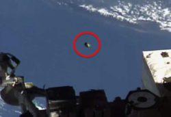 НЛО 22 минуты летел рядом с МКС