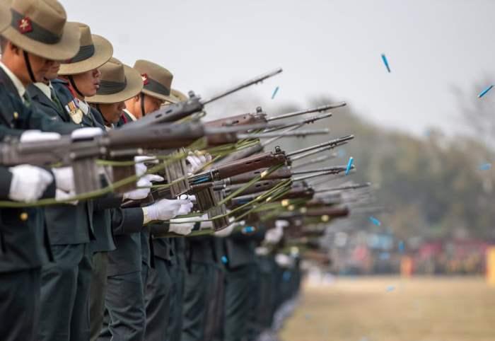 Непальские солдаты