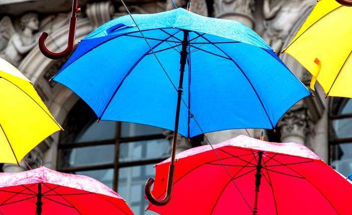 Правильный выбор зонта