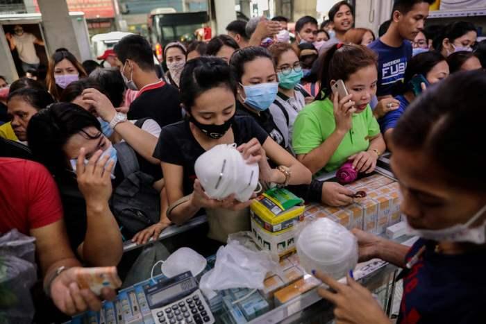 Спрос на медицинские маски