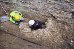 Стены из человеческих костей обнаружены под собором в Генте