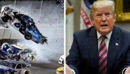 Трамп «молится» за водител