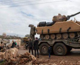 Турецкая артиллерия обстреляла