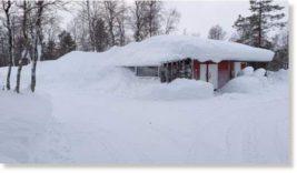 Финляндия,Лапландия,снег