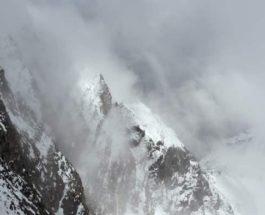 альпы снег