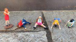 В Японии выпустили линию игрушек, изображающую пьяных людей