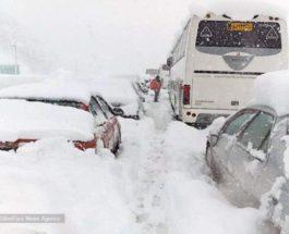 иран снег