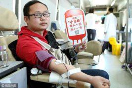 китайцы кровь