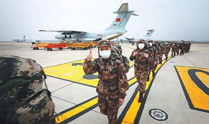 китай военные медики