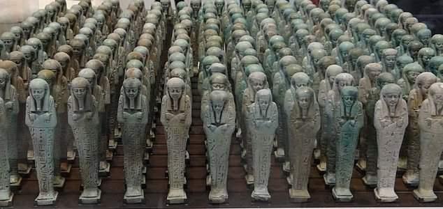мумии египетских первосвященников